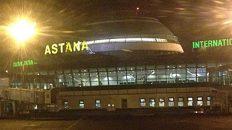 Der Flughafen in Astana, Kasachstan (Quelle: ruti)