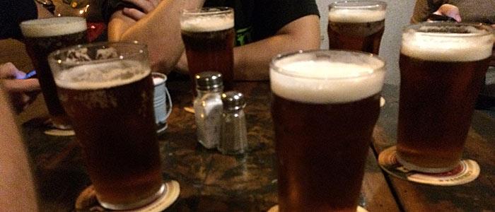 Nach ein paar Runden alkoholischer Kaltgetränke geschah das Malheur. (Quelle: ruti)