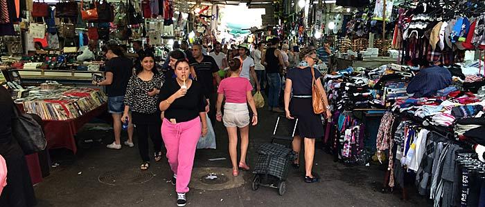 Der Carmel-Market in Tel Aviv. (Quelle: ruti)