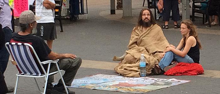 Jesus war auch da. (Quelle: ruti)