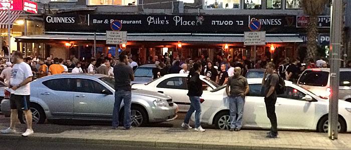Mike's Place: Treffpunkt der Eintracht-Fans in Tel Aviv. (Quelle:ruti)