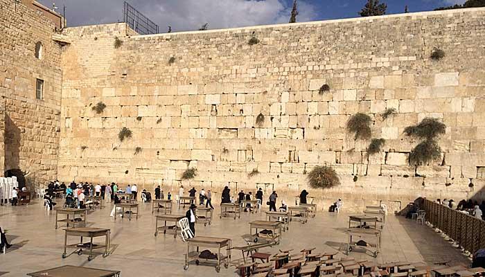 Da ist sie - die Klagemauer. (Quelle: ruti)