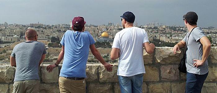 Jerusalem vom Ölberg aus