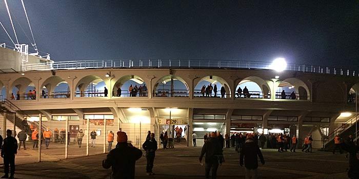 Das Stade Jacques-Chaban-Delmas ist klein aber schick. (Quelle: Ruti)