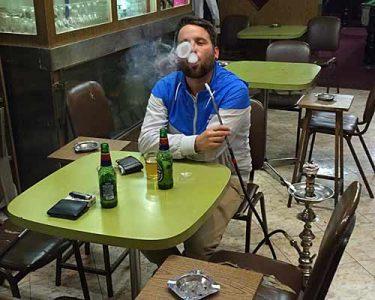 Shisha rauchen in der Old City. (Foto: ruti)