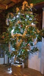 Weihnachtsbaum auf kambodschanisch. (Quelle: ruti)