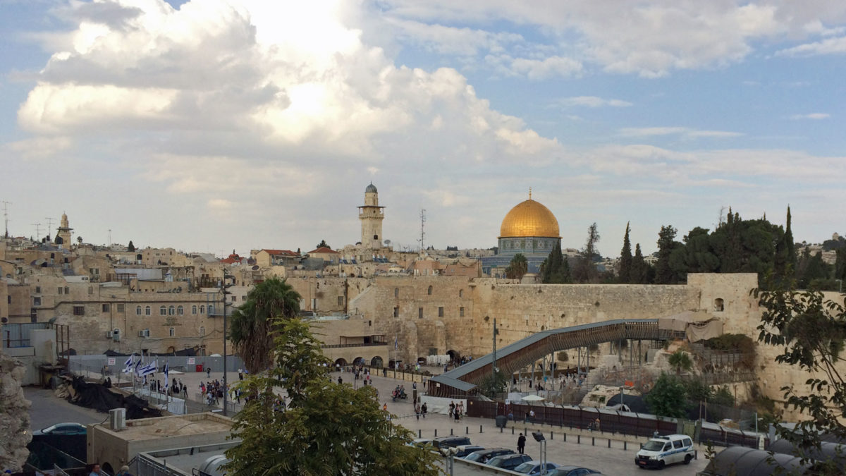 Die Altstadt in Jerusalem (Quelle: ruti)