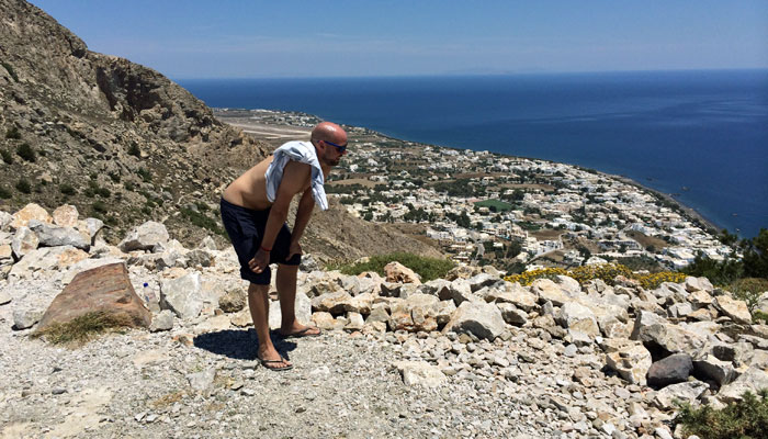 Sisyphos von Santorin