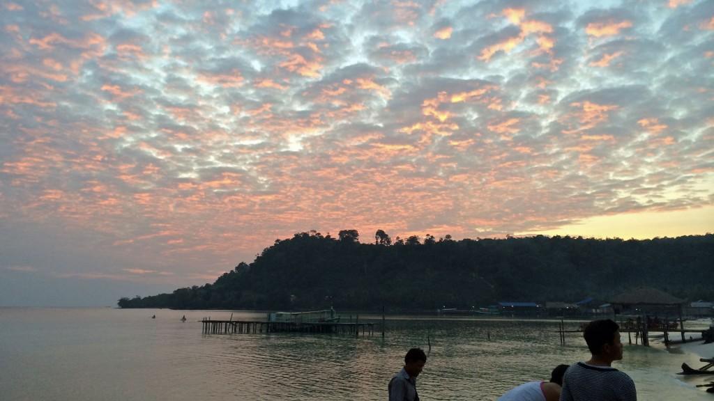 Sonnenuntergang auf Koh Rong (Foto: ruti)