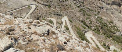 Straße nach Alt-Thera