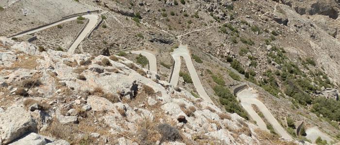 Straße nach Alt-Thera (Foto: ruti)
