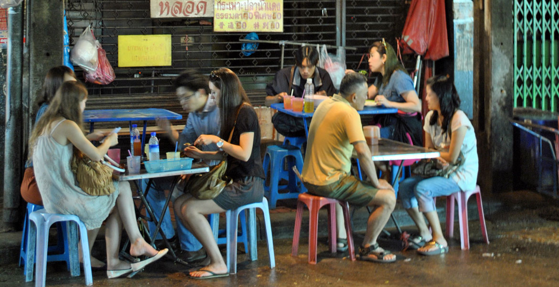 Kleines Thai-Restaurant in Bangkok (Quelle: ruti)