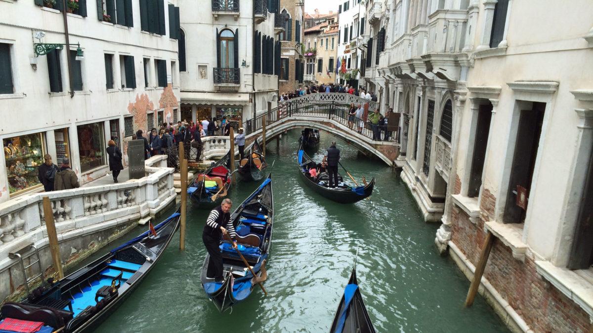 Gondeln in Venedig (Foto: ruti)