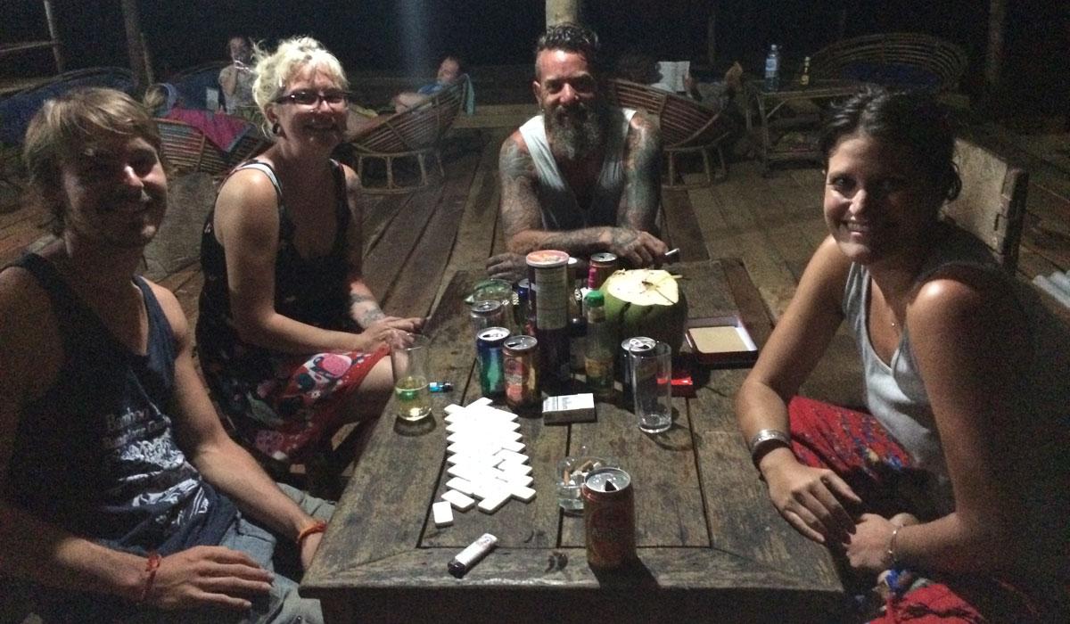 Travel-Freunde auf Koh Rong (Quelle: ruti)