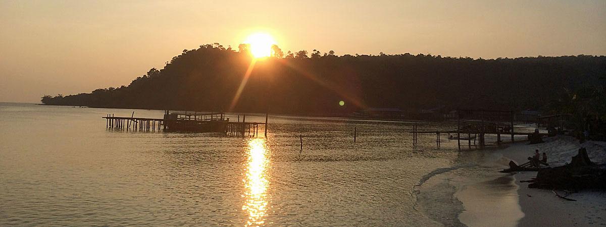 Sonnenuntergang über Soksan (Quelle: ruti)