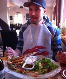 Ruti freut sich aufs Essen. (Foto: ruti)
