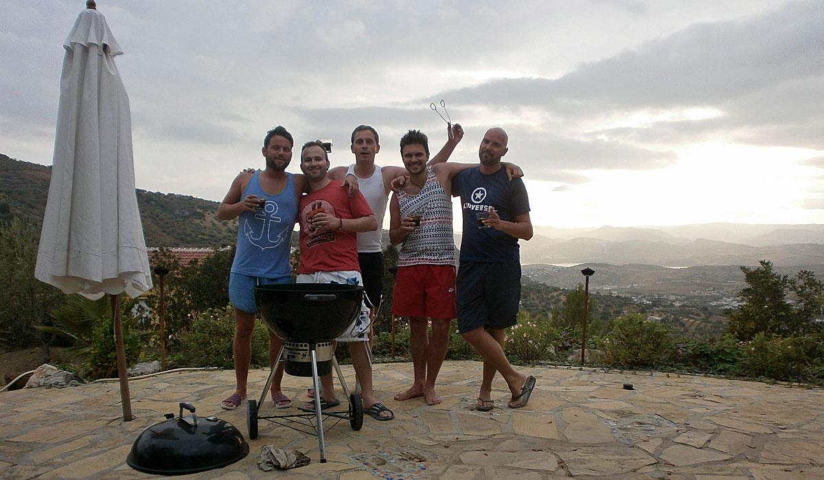 Männerurlaub in Alcaucin (Foto: ruti)