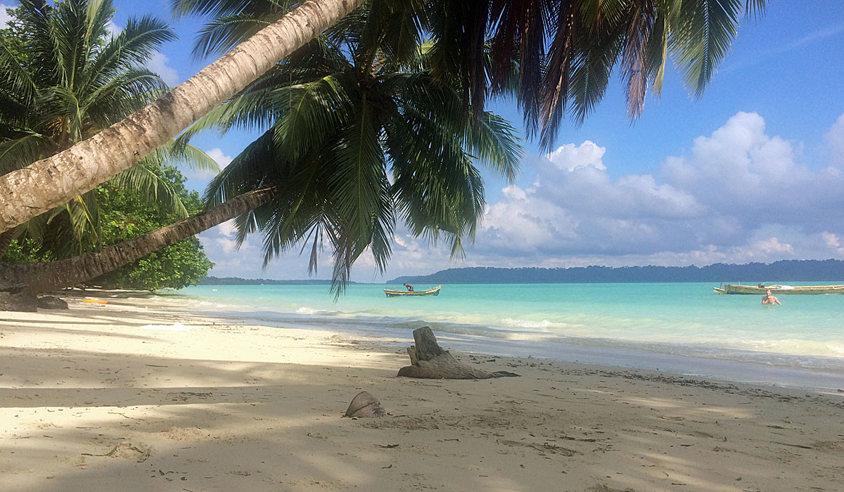Beach Nr. 5 auf der Insel Havelock (Foto: ruti)