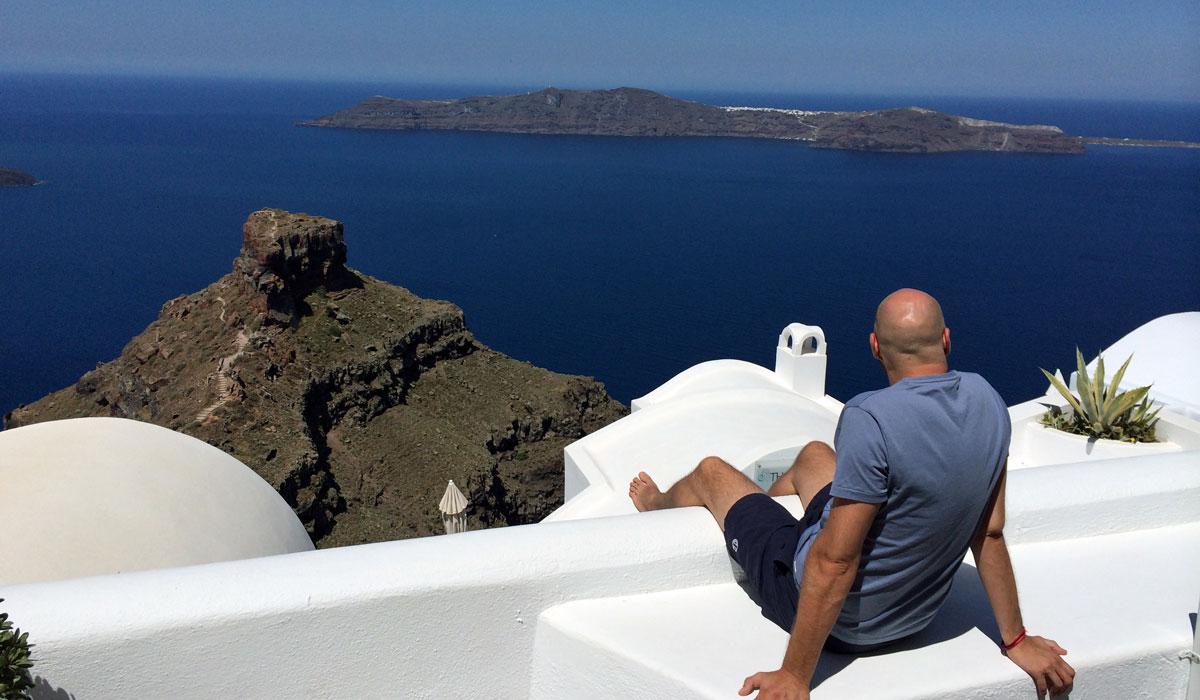 Wahnsinnsausblick von Imerovigli auf Santorin (Foto: ruti)