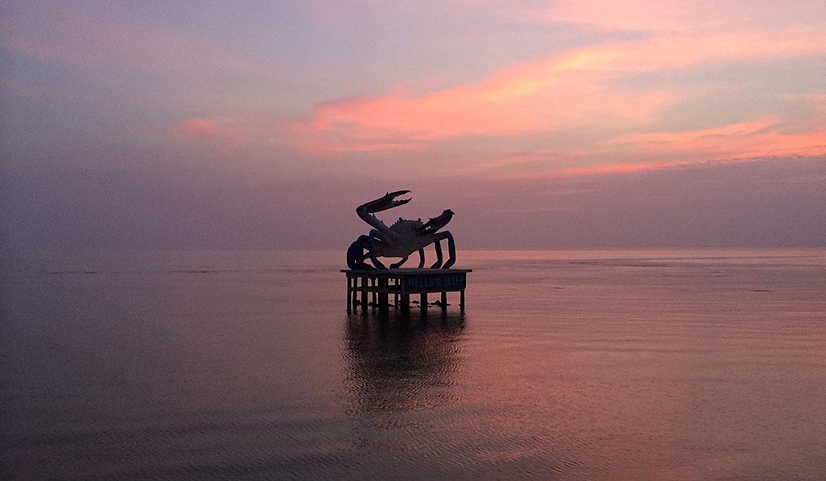 Die kambodschanische Stadt Kep ist für seine Krabben bekannt. (Foto: ruti)
