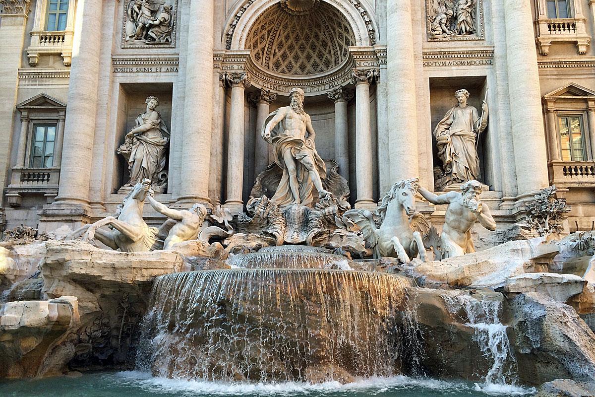 Der Trevi-Brunnen in Rom (Foto: ruti)