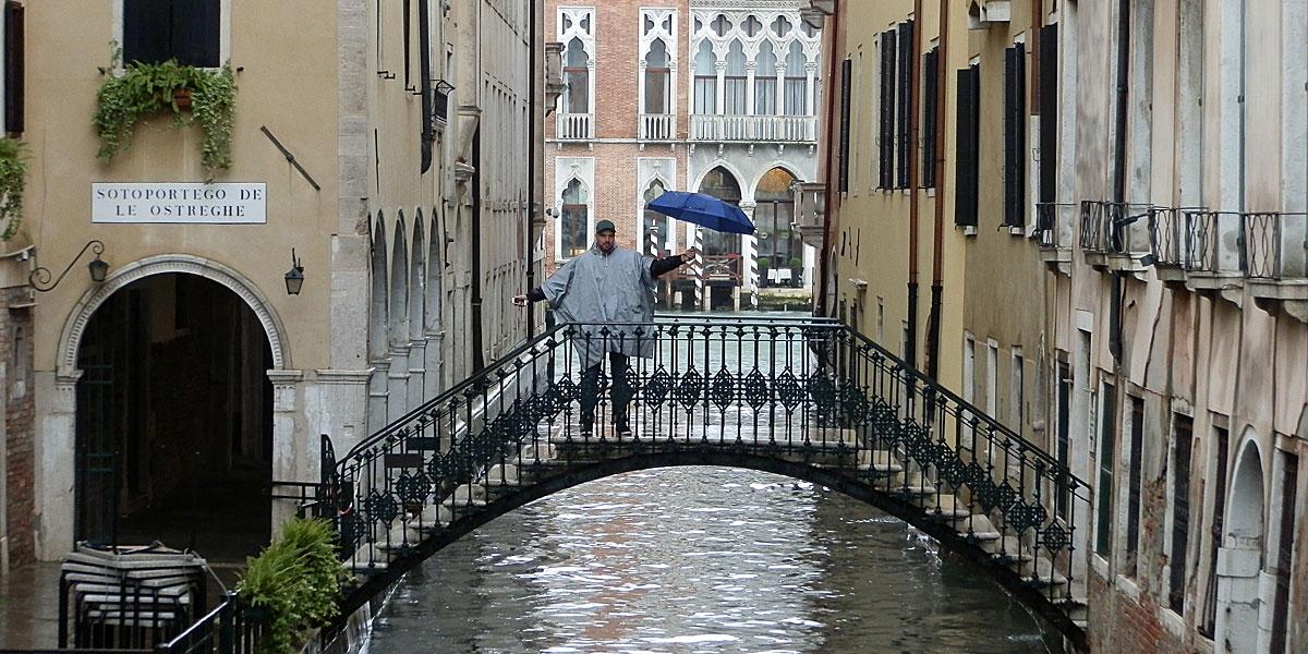 Ein Regentag in Venedig (Foto: ruti)