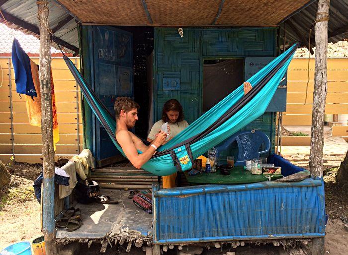 Die typische Backpacker-Hütte (Foto: ruti)