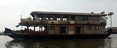 Hausboot in den Kerala Backwaters von Südindien (Foto: ruti)