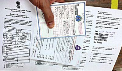 Wenn man in Indien einreist, muss man sich der britischen Bürokratie stellen. (Foto: ruti)