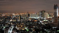 Bangkok bei Nacht (Foto: S.E.)