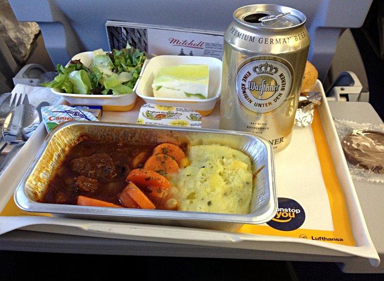 Lufthansa Bordverpflegung