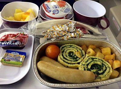 Thai Airways Frühstück 2013 (Foto: ruti)