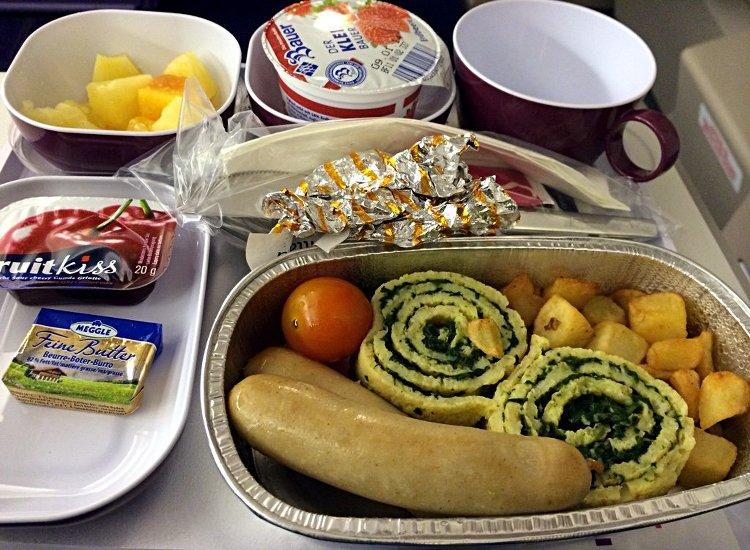 Thai Airways Frühstück