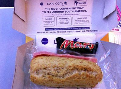 Brötchen bei LAN Airlines (Foto: ruti)
