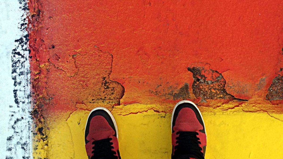 Air Jordans sehen einfach überall gut aus. (Foto: ruti)