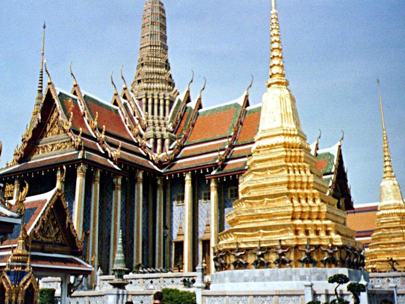Der Königspalast in Bangkok (Foto: ruti)
