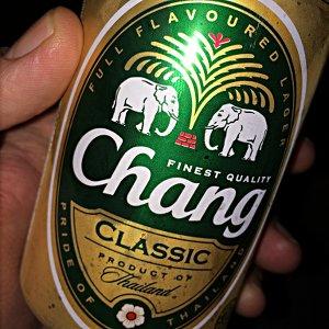 Eine Dose Chang-Bier in Thailand. (Foto: Ruti)