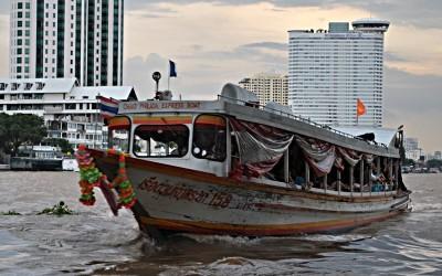 Das Chao Phraya Express Boot in Bangkok (Foto: S.E.)