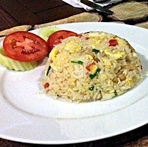 Eine Portion gebratener Reis in Thailand (Foto: Ruti)