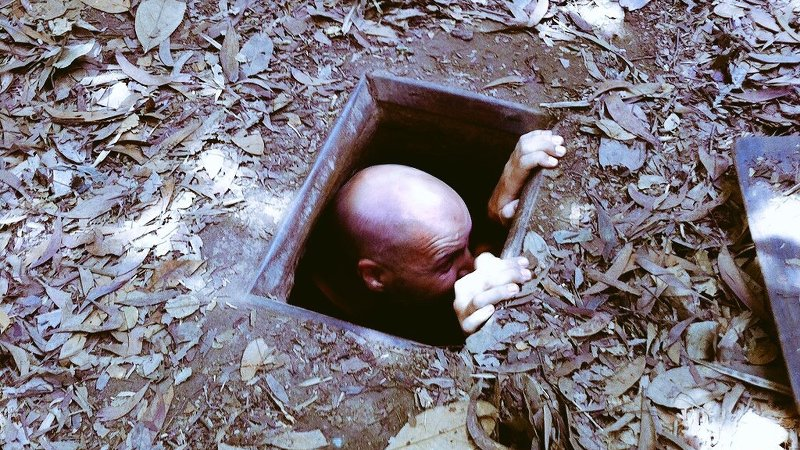 Zu Besuch bei den Cu Chi Tunneln der Vietcong (Foto: Ruti)