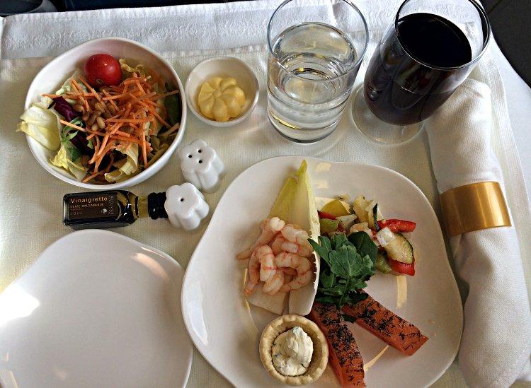 Ein Abendessen Gang Vietnam Airlines