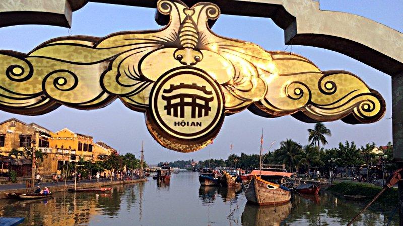 Blick auf den Song-Thu-Bon-Fluss in Hoi An (Foto: Ruti)