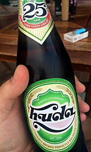 """Das vietnamesische """"Huda""""-Bier gewann 2013 bei der Bier-WM den zweiten Platz. (Foto: Ruti)"""