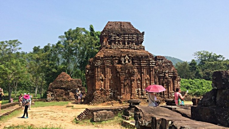Die alte Tempelstadt My Son in Vietnam (Foto: Ruti)