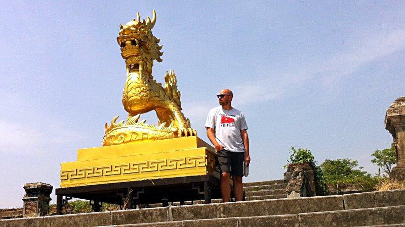 Ruti in Hue, der alten Kaiserstadt Vietnams (Foto: Ruti)