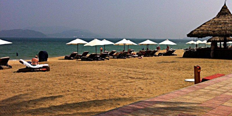 Der Strand in Nha Trang (Foto: Ruti)