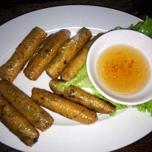 Frittierte vietnamesische Frühlingsrollen (Foto: Ruti)