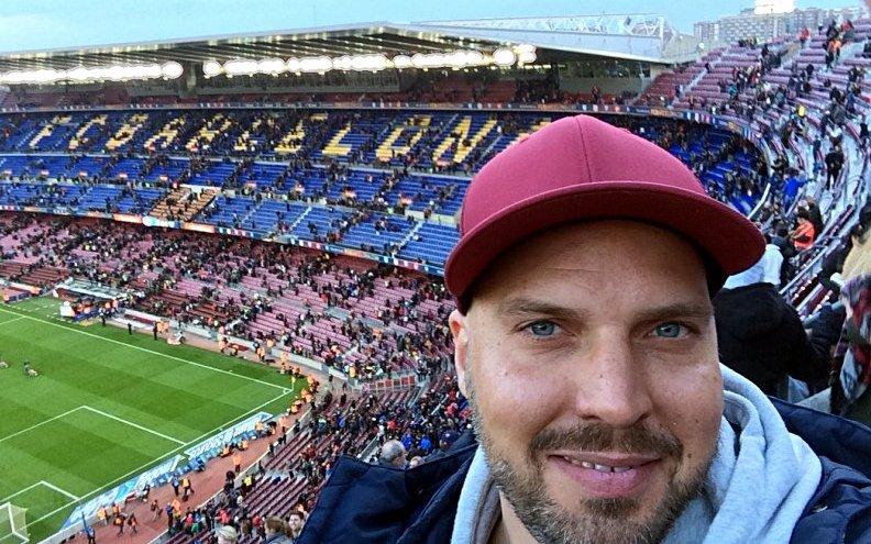 Zu Gast beim FC Barcelona im Camp Nou (Foto: Ruti)