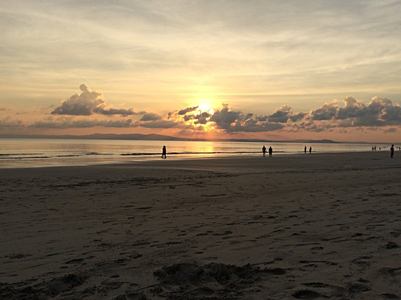 Sonnenuntergang Beach Nr. 7 auf Havelock, Indien (Foto: Ruti)