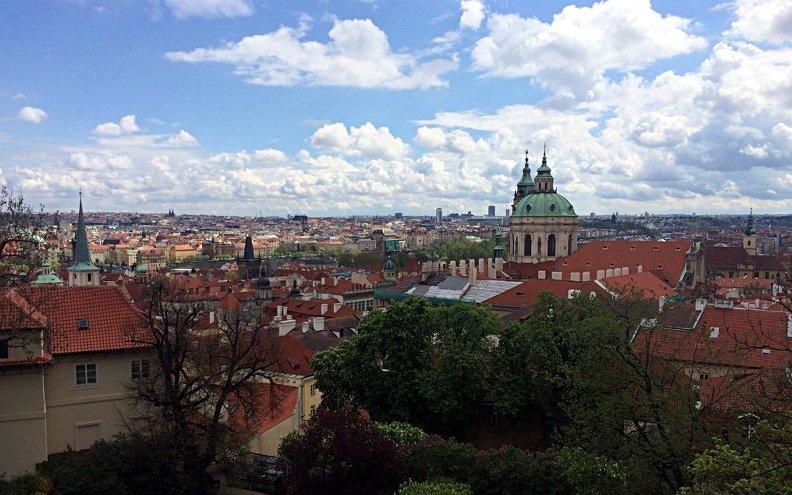 Blick auf die schöne Stadt Prag (Foto: Ruti)
